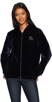 Obey Junior's Spades Velvet Zip Jacket