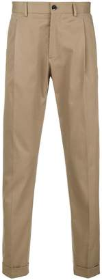 Etro tapered-leg chino trousers