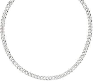 """Italian Silver 18"""" Curb Link Chain, 42.5g"""