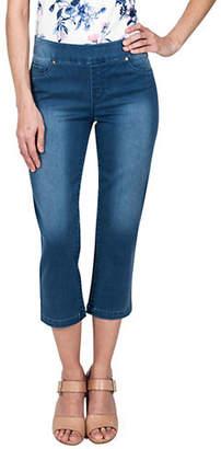 Haggar Petite Dream Capri Jeans