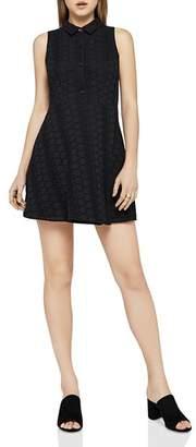 BCBGeneration Sleeveless Eyelet Shirt Dress