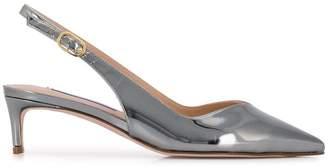 Stuart Weitzman slingback low heel pumps