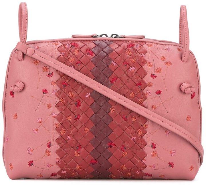 Bottega VenetaBottega Veneta interlaced leather crossbody bag
