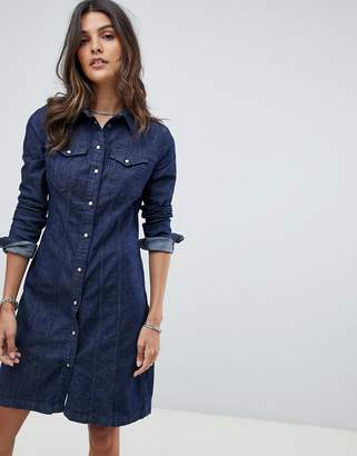 G Star G-Star slim fit denim dress