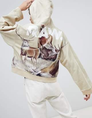 G Star G-Star X Jaden Smith Force Of Nature organic cotton desert hoodie