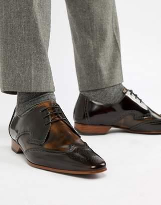 Jeffery West Escobar Contrast Brogue Shoes