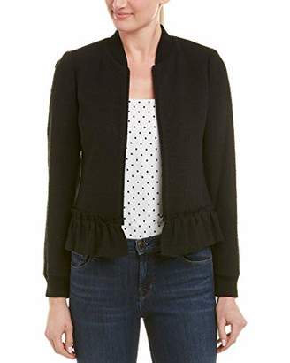 Rebecca Taylor Women's Textured Tweed Jacket