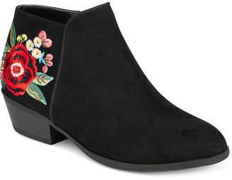 Sam Edelman Petty Embroidered Boots, Little Girls (11-3) & Big Girls (3.5-7) $68 thestylecure.com
