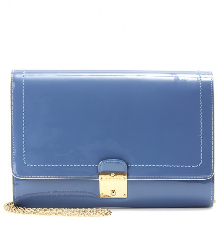 Marc Jacobs All in One patent leather shoulder bag