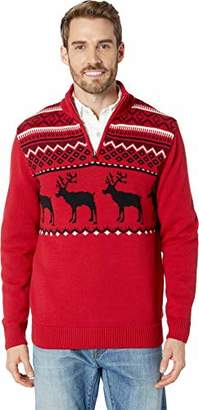 Chaps Men's Novelty Fashion Long Sleeve Sweater
