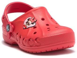 Crocs Baya Minnie Clog (Toddler & Little Kid)