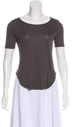 Theyskens' Theory Short Sleeve High-Low Top w/ Tags