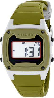 Freestyle Men's 103322 Shark Classic LCD Digital Display Japanese Quartz Green Watch