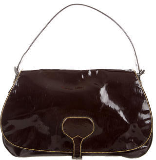 prada Prada Vernice Saddle Bag
