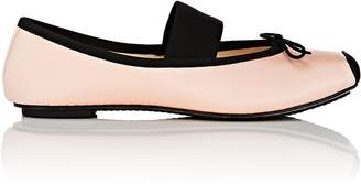 Repetto Women's Satin Square-Toe Ballet Flats