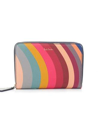Paul Smith Swirl Medium Zip Wallet