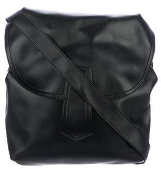 Marni Smooth Leather Crossbody Bag Black Smooth Leather Crossbody Bag