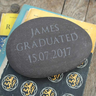Letterfest Engraving Personalised Engraved Stone Paperweight
