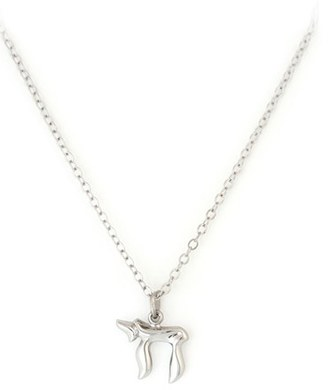 Girl's Speidel Chai Sterling Silver Pendant Necklace $39.99 thestylecure.com