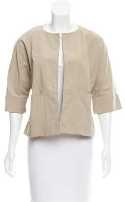 Marni Short Sleeve Open Front Jacket