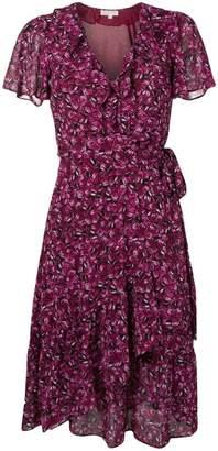 MICHAEL Michael Kors wrap butterfly dress