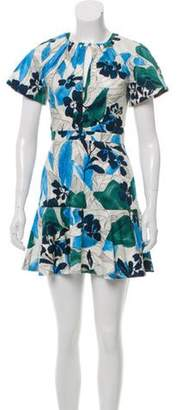 Alexis Floral Mini Dress Floral Mini Dress