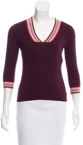 Marc JacobsMarc Jacobs Cashmere & Silk-Blend Sweater