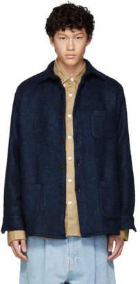 Schnaydermans Blue Mohair One Shirt