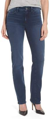 NYDJ Marilyn Stretch Straight Leg Jeans (Traveler) (Regular & Petite)