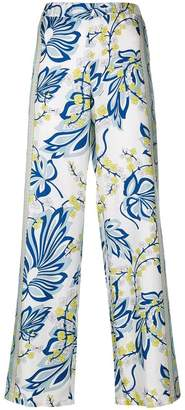 P.A.R.O.S.H. floral printed trousers