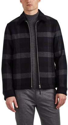Theory Men's Wyatt Checked Wool-Blend Jacket