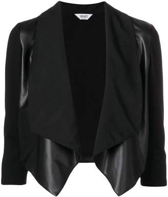 Liu Jo cropped waterfall jacket
