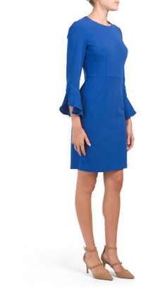 Tulip Sleeve Dress