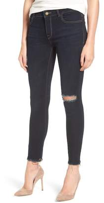 DL1961 Margaux Instasculpt Ripped Ankle Skinny Jeans