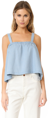 BB Dakota Jack by BB Dakota Chet Chambray Swing Top $65 thestylecure.com