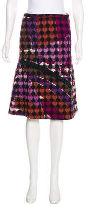 Emilio Pucci Knee-Length Patterned Skirt