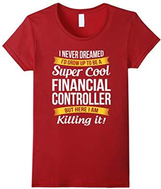 Super Cool Financial Controller T-Shirt Funny Gift