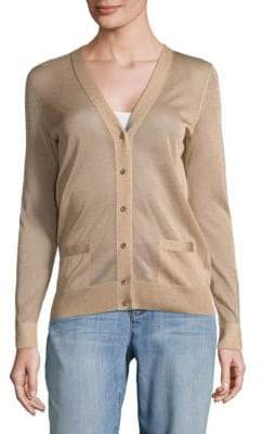 Akris Buttoned Sweater