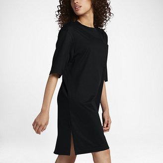 "NikeLab Essentials Dress Women's 36.5"" T-Shirt Dress $140 thestylecure.com"