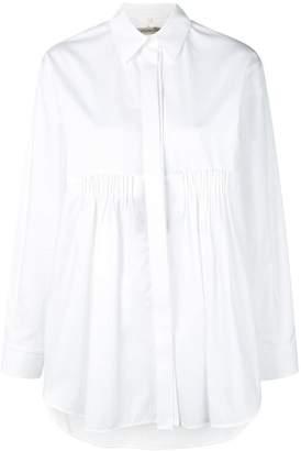 Sportmax Transforming pleated shirt