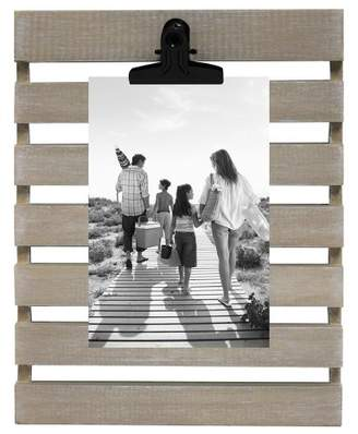 "Threshold 4"" x 6"" Photo Wedge Frame Natural"