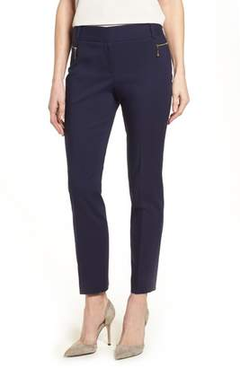 Chaus Dena Zip Pocket Ankle Pants
