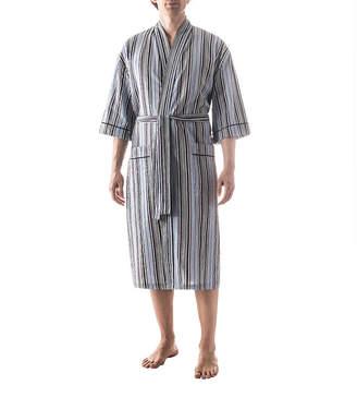 RESIDENCE Residence Seersucker Kimono Robe