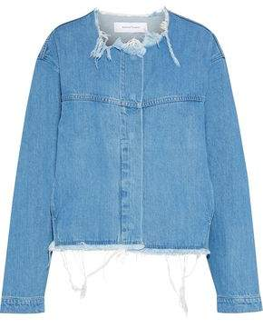 Marques Almeida Marques' Almeida Distressed Denim Jacket