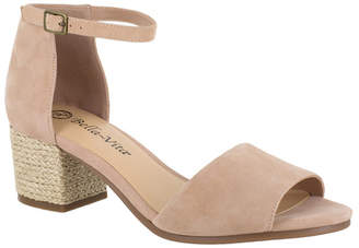 Bella Vita Fable Block Heel Wrap Sandals Women Shoes