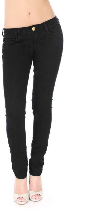 CHASELY Denim Legging Jean in Black
