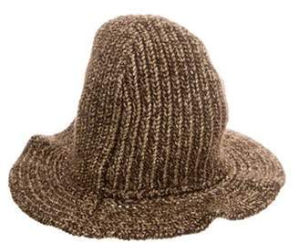 Ralph Lauren Metallic Cashmere Knit Hat w/ Tags Gold Metallic Cashmere Knit Hat w/ Tags