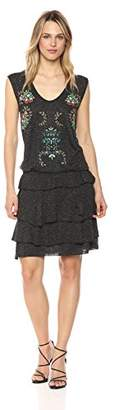 Desigual Women's Cole Short Sleeve Dress