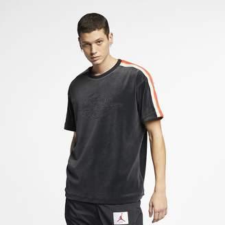 Nike Men's Short-Sleeve Top Jordan Gold Chain