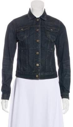 AllSaints Button-Up Denim Jacket